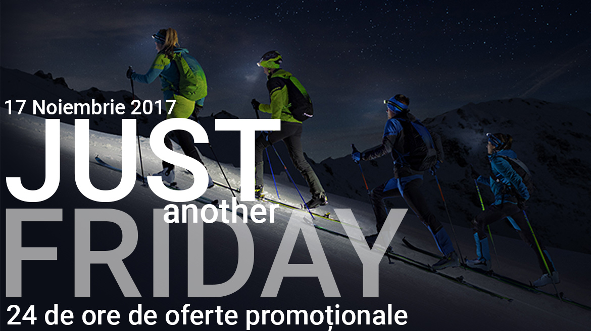 Regulamentul promotiei Just Another Friday - 17 Noiembrie 2017