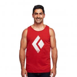 Maiou Escalada Barbati Black Diamond Chalked Up Tank Ms Red Rock