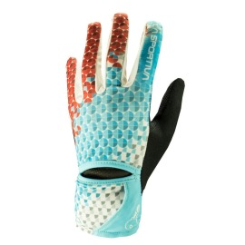Manusi Trail Running Femei La Sportiva Trail Gloves Ws Malibu Blue White