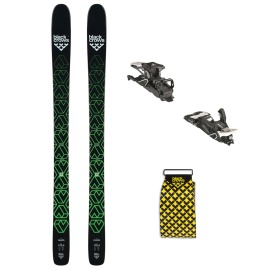 Pachet Schi De Tura Si Freeride Black Crows Navis  Legaturi Atomic Shift MNC  Piei De Foca Black Crows Pellis