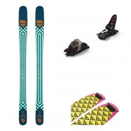 Schiuri Big Mountain Si Freeride Black Crows Atris 2021 Cu Legaturi Marker Duke PT 12 Si Piei De Foca Black Crows Pilus To Cut 120 Mm