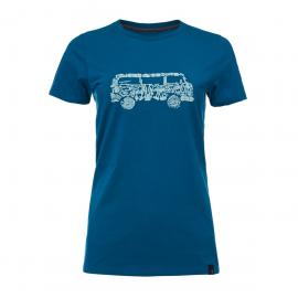 Tricou Escalada Femei Black Diamond Vantastic Tee Ws Night Sky