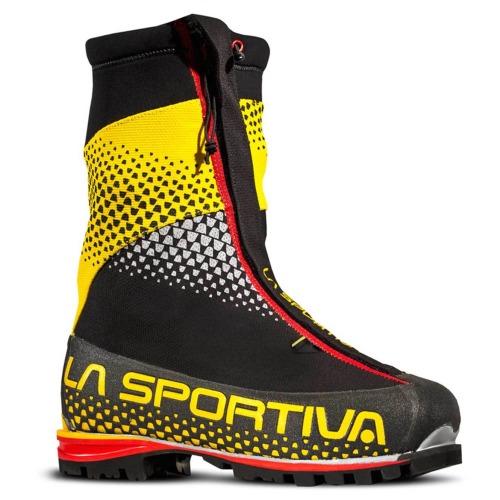 magazin oficial vânzări cu ridicata reducere mare Bocanci tehnici alpinism iarna La Sportiva G2 SM Black Yellow ...